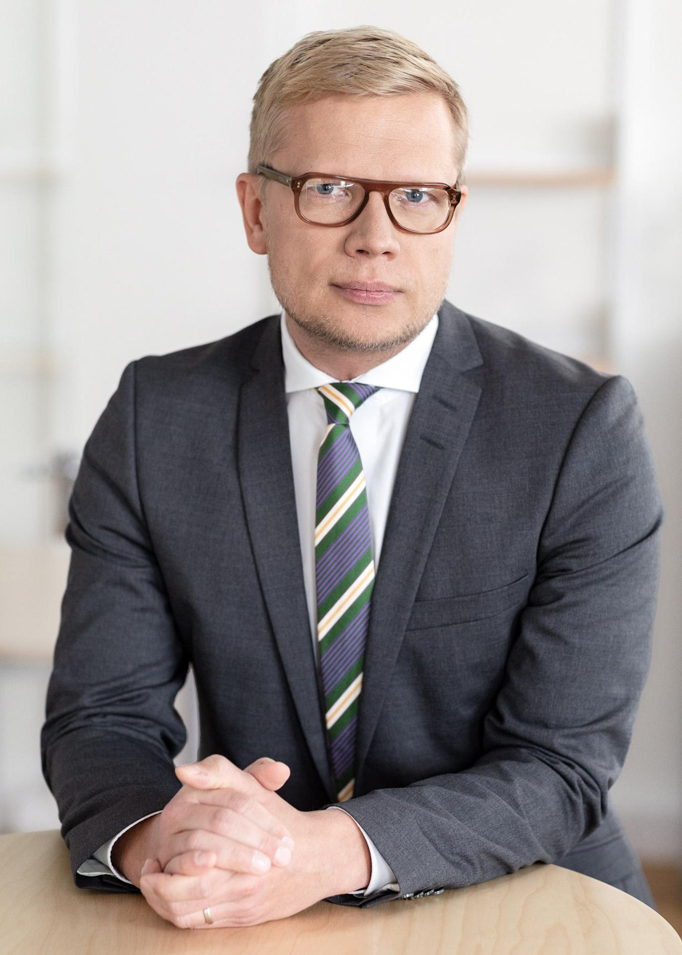 Jari Matero from Finnfund