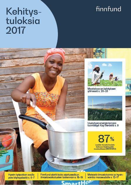 Kehitystuloksia 2017 -raportin kuva