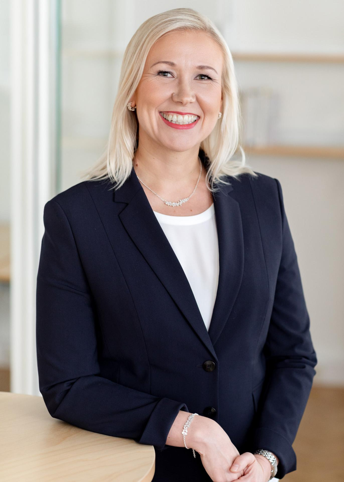 investment manager Ulla Huotari