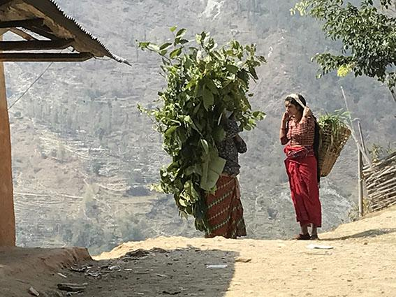 photo of Nepalese women
