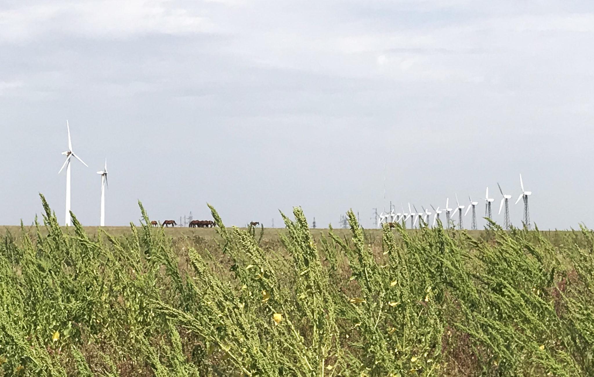 Windmills in Ukraine