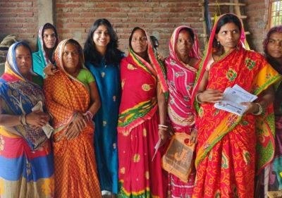 Photo of group of women with Purvi Bhavsar