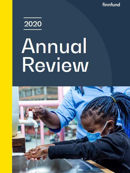 Cover of Finnfund's Annual Report 2020